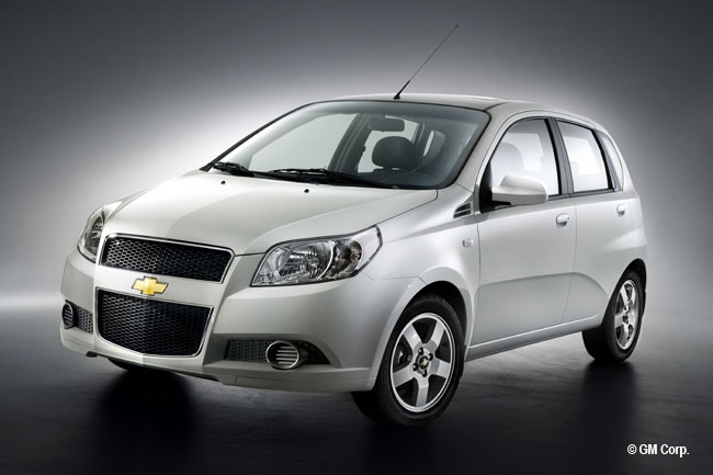 chevrolet aveo 5 portes minute. Black Bedroom Furniture Sets. Home Design Ideas